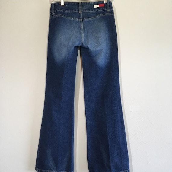 Vintage Tommy Jeans Hilfiger Bell Bottoms Flare