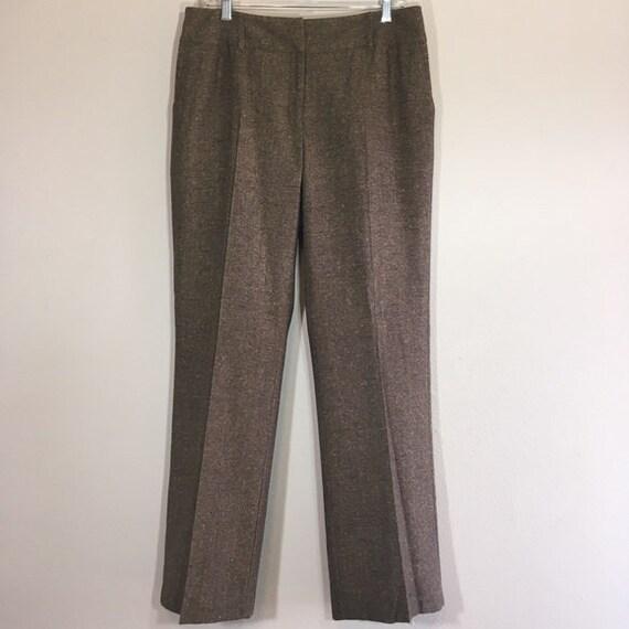 Vintage Tweed Wool Slacks Vintage Slacks Deadstock