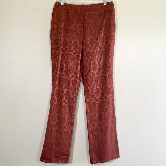Deadstock Vintage Flared Pants Boho Print Western