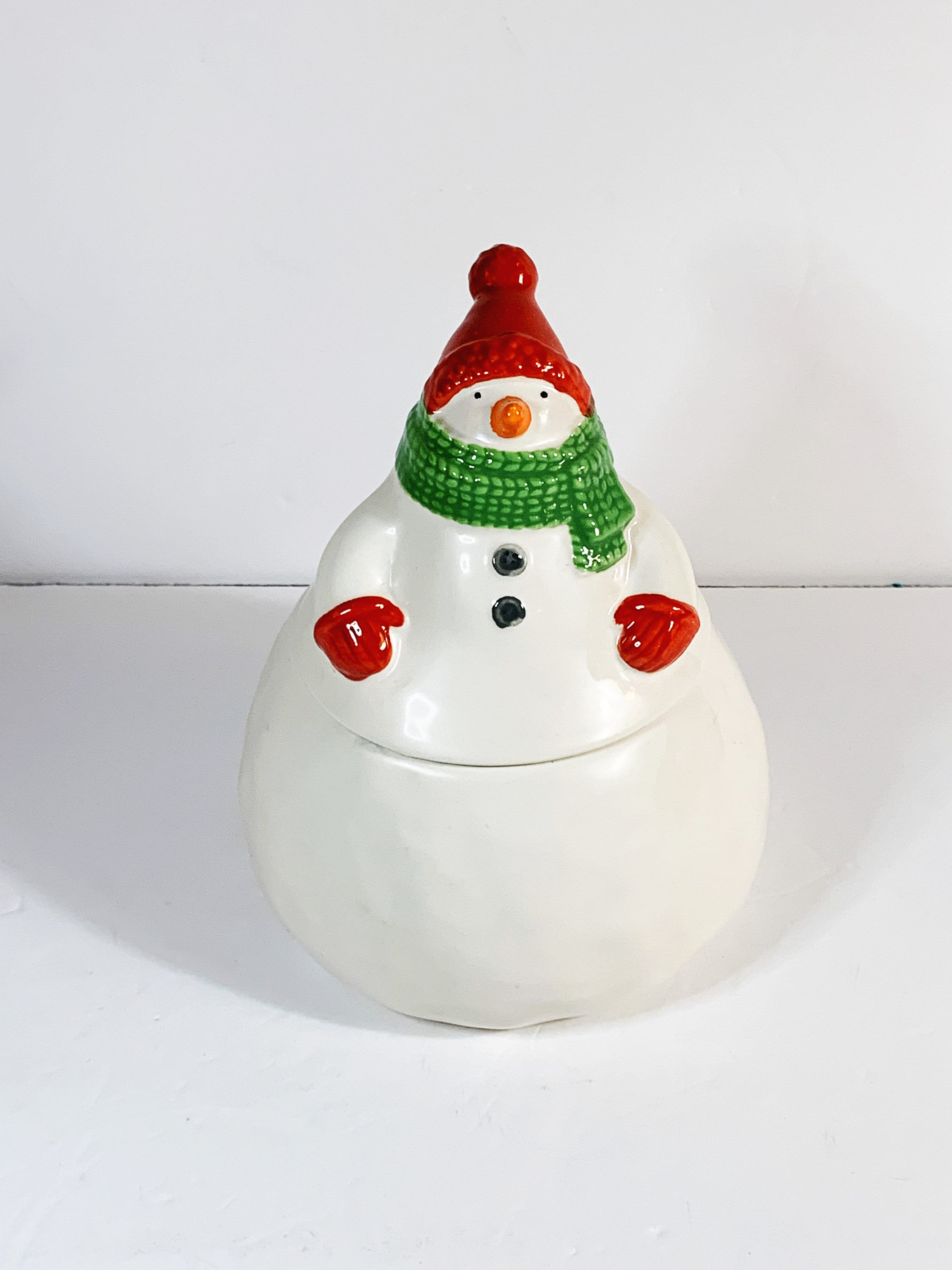 Snowman Cookie Jars Page Three