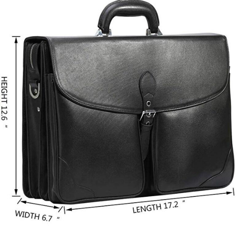 Laptop bag Men leather briefcase Leather bag Leather Crossbody bag 17 Shoulder Bag Business Laptop Briefcase Leather messenger bag men
