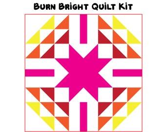 "Burn Bright Quilt Kit (64"" x 64"")"