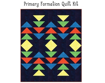 """Primary Formation Quilt Kit (60"""" x 72"""")"""