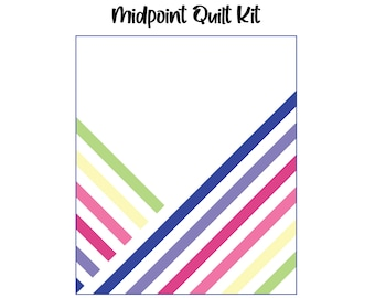 """Midpoint Quilt Kit (58"""" x 68"""")"""