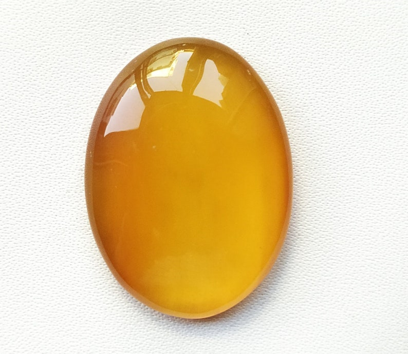 natural yellow onyx oval shape For Jewelry Cabochons Loose Gemstone top quality Handmade gemstone jewelry 29m 32.ct