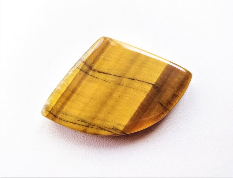 Natural tiger eye fancy shape For Jewelry Cabochons Loose Gemstone top quality Handmade gemstone jewelry 23m 37.ct