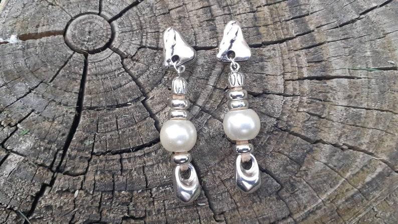 boho earrings valentine day Uno de 50 style silver plated earrings gift earrings wedding earrings Long earrings