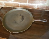 Vintage Cast Iron Griswold Skillet Griddle Farmhouse Kitchen