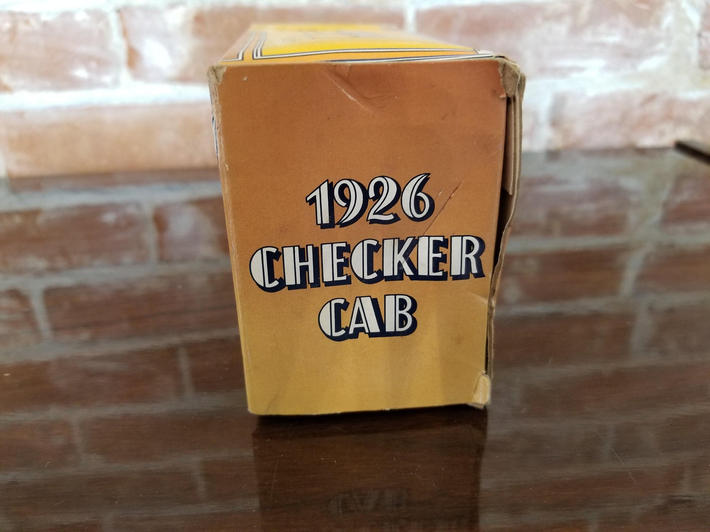 Vintage Avon Everest Cologne 1926 Checker Cab with Box