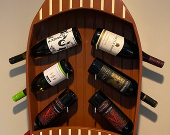 ShipRack Wine Bottle Storage Rack