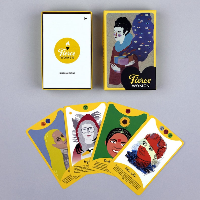 Fierce Women Card Game image 0