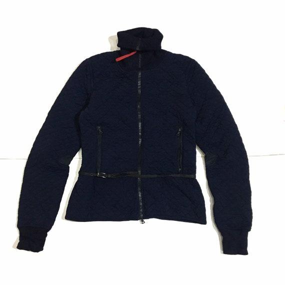 Vintage Authentic Prada Quilted Belt Jacket