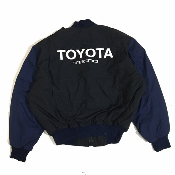 Vintage Toyota Techno Bomber Jacket