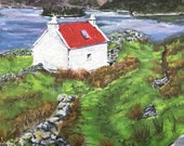 Giclee print of 'Scottish Croft'