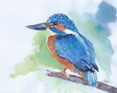 Giclee print of 'Riverbank Royalty'