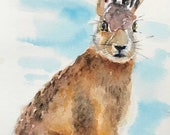 Lovely Giclee print of 'Hermione' by British artist