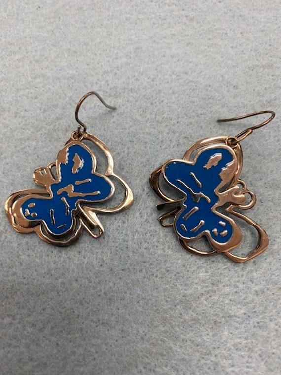 Andy Warhol Butterfly Earrings