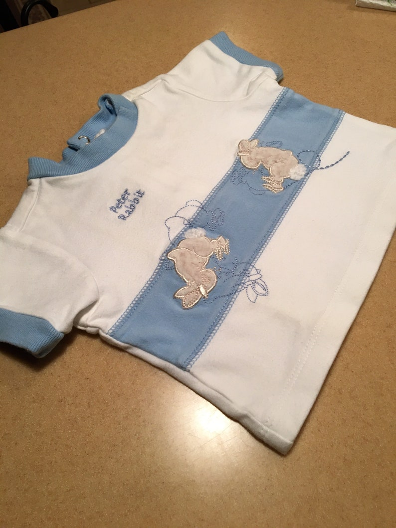 Baby Boys 0-3 months Peter Rabbit 2 piece set Easter Outfit