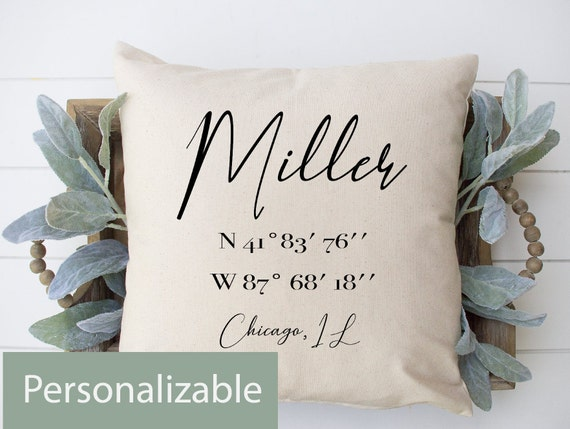 Family Gift Home D\u00e9cor Pillow Wedding Pillow Anniversary Gift Decorative Pillow Personalize Willow Wreath Home And Living