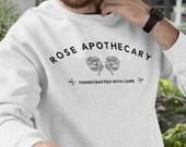 Rose Apothecary Crewneck Sweatshirt Unisex Adult Crewneck Schitt 39 s Creek Ew David Rosebud Motel Crewneck Hoodie David Rose