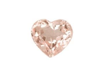 Pink Morganite Heart Reiki /& Feng Shui