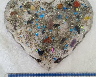 Orgonite Hearts