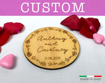 Wedding Favor Rustic Wedding Favor 2 Custom Wedding Coasters Housewarming Gift Cork Coasters Personalized Coasters Bridal Shower