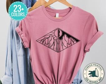 Day And Night T Shirt, Adventure Hiking Shirt, Camp Shirt , Hiking Shirt, Camping Gift Shirt, Explore Shirt, Camp Lover Shirt, Camp Life