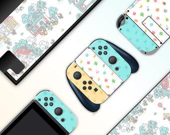 Animal Crossing Home Full Set Nintendo Switch Skin Sticker Etsy