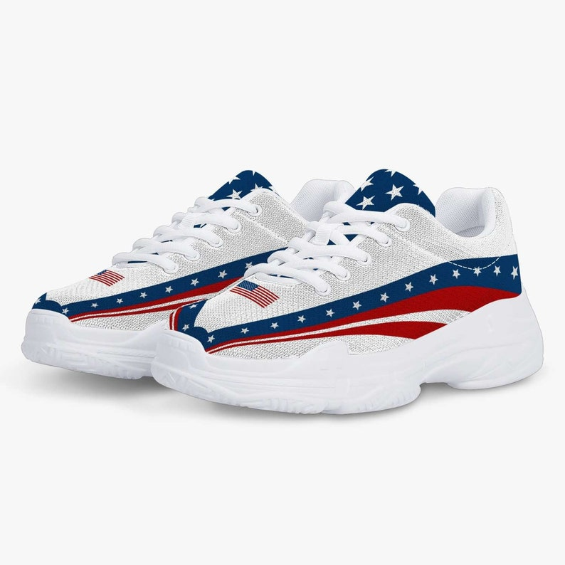 Red White /& Blue Sneakers
