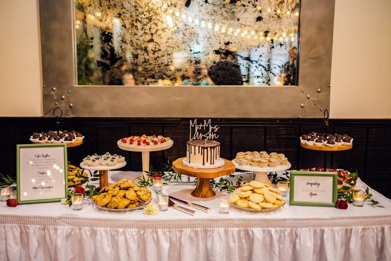 Print Ready Instant Download Sweets Menu 100/% Customizable DIY Sign Minimalist Dessert Menu Sign