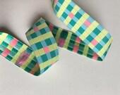 7 8 quot Square fun pattern, Jacquard ribbon