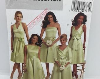 Butterick 5322 dress bridesmaid sz 16-24