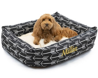 custom pet supplies dog bed gift for pet dog mom birthday gift Personalized pet bed