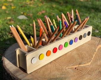 Pen Hero, Pen Holder Montessori, Desk Organizer, Order Desk