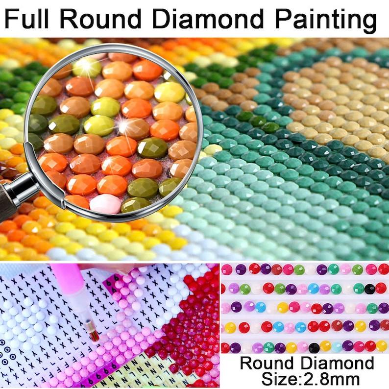 5D Diamond painting Girl Full Round Diamond mosaic Full Square Diamond embroidery Cross stitch
