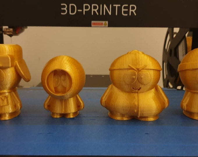 South park figurines 3d