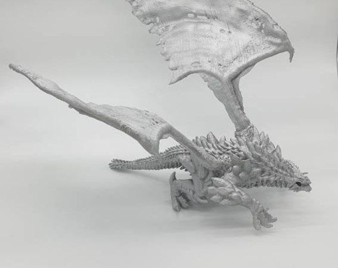 Silver dragon 3d