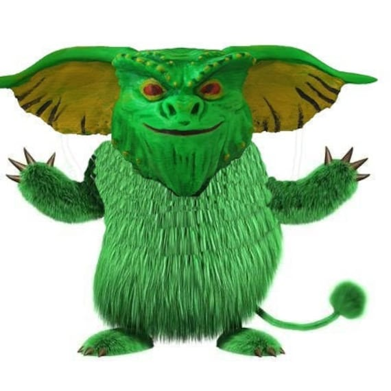 3d Gremlins head painted