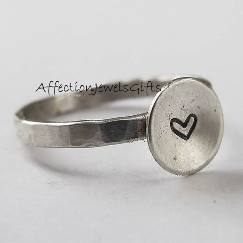 Plain Silver Ring Dainty Ring Sterling Silver Ring 925 Silver Ring Women Ring Boho Ring Gift For Her Handmade Ring Stacking Ring