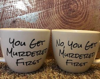 Schitt's Creek Mugs- 2 Pack