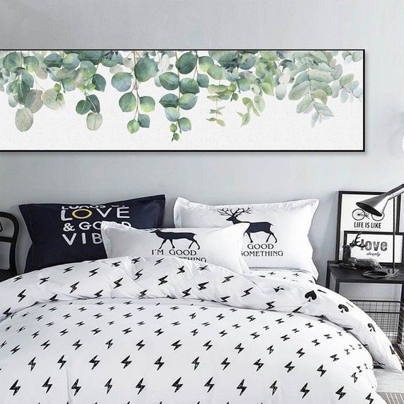 Eucalyptus Extra Large Wall Art Eucalyptus Leaves Wall Art Etsy