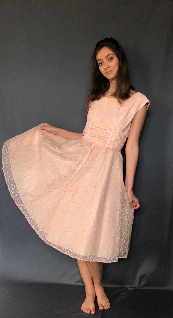 Pink Cherry Blossom Dress