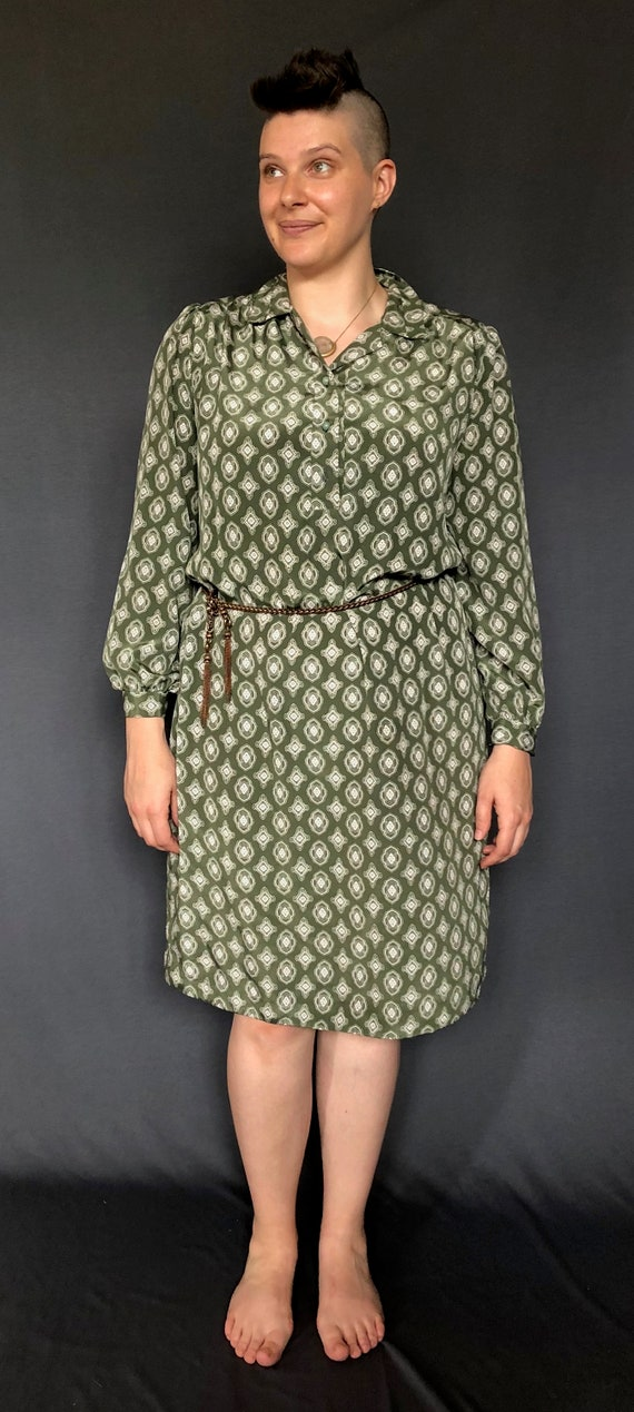 1970s Office Dress