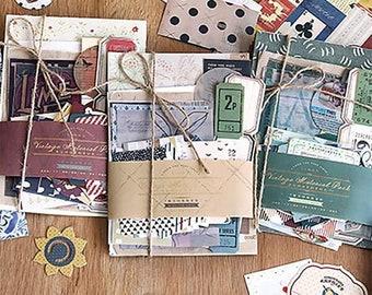 Ephemera Pack, Vintage Stickers, Junk Journals,  Art Journaling, Notebooks, Paper Crafts, Scrapbooking, Botanical, Kit, embellishment