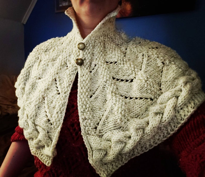 Victorian knitted shawl image 0