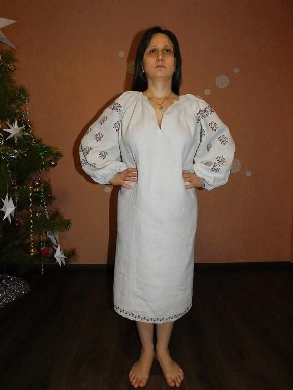 Ukrainian embroired dress ウクライナ刺繍 ukrainian blouse