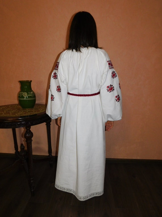Ukrainian traditional red vyshyvanka vintage| ukr… - image 7
