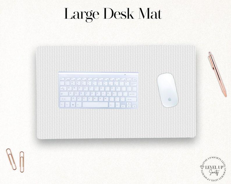 Desk Accessories Desk Mat Pad Office Decor Small Desk Mat Stylish Desk Accessories Modern Chic Desk Mat Large Desk Mat