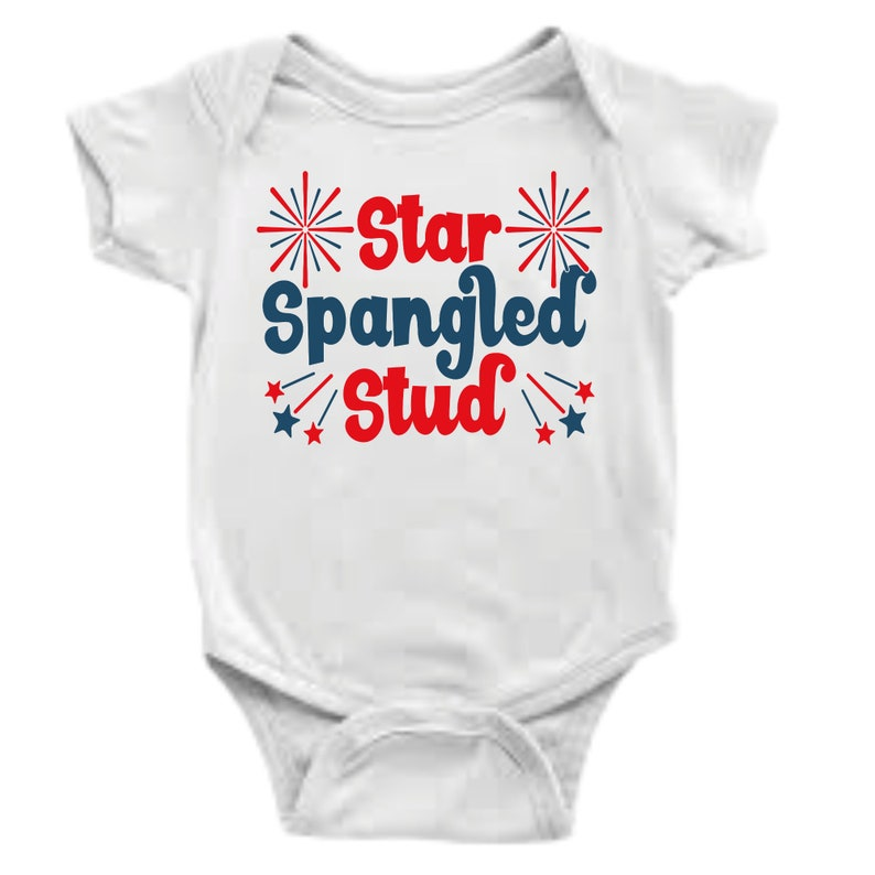 Gender Reveal Baby Girl Baby Unisex Baby Shower Gifts twin outfits Baby Boy STAR SPANGLED PrincessStud Bodysuit Coming Home Outfit